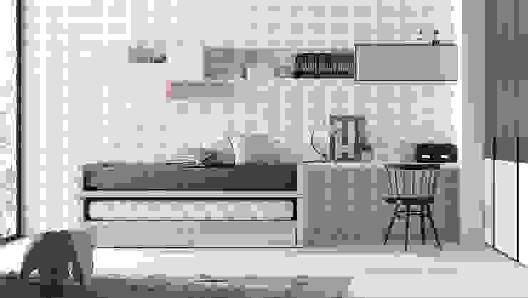 Dormitorios infantiles  de estilo  por Mueblalia