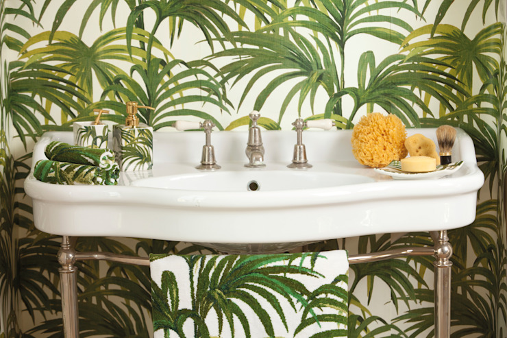 FEILER meets House of Hackney - PALMERAL GREEN:  Badezimmer von FEILER