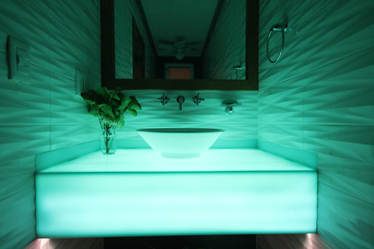 Baño Blu Losanto Arquitectos Baños de estilo moderno