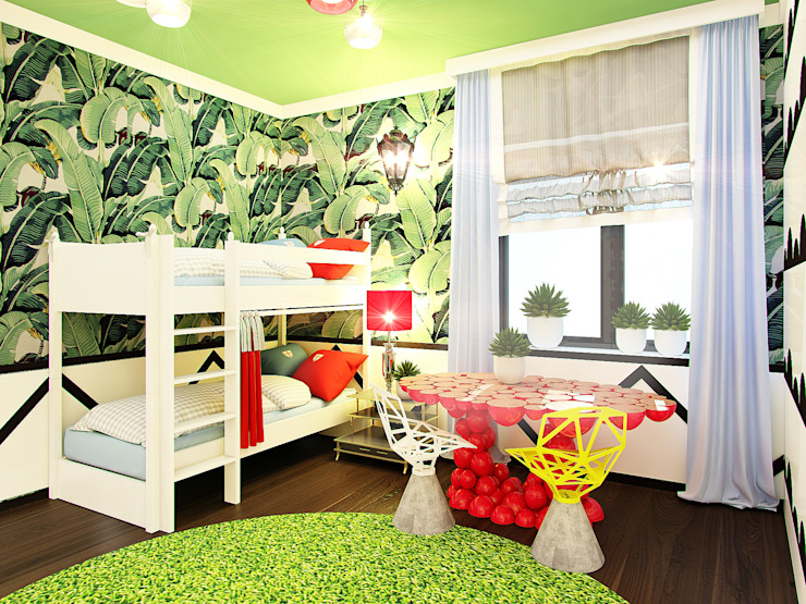 Eclectic style nursery/kids room by Anna Vladimirova Eclectic