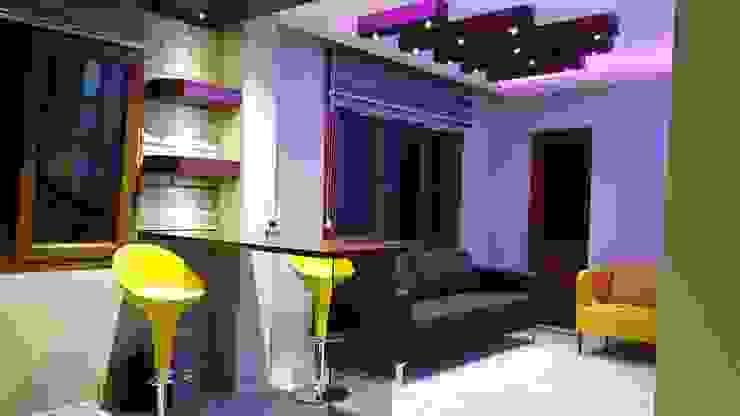 ROAS Mimarlık – Bar ve Oturma Bölümü: modern tarz , Modern