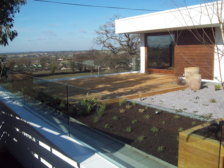 Roof Gardens Modern garden by Unique Landscapes Modern