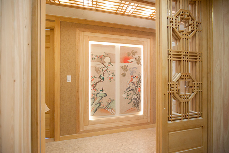 Asian style window and door by homify Asian