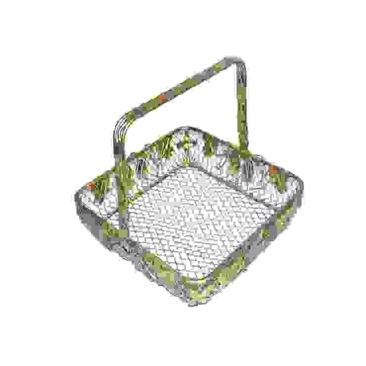 Leaf Design Wire Fruit Basket by M4design