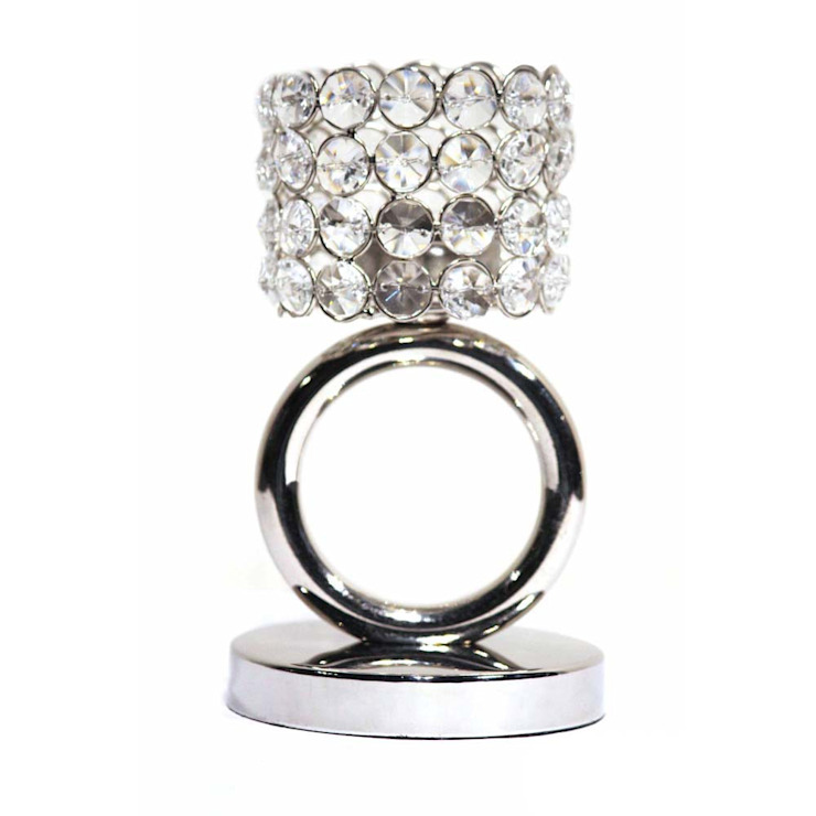 Crystal Ring Tea Light Candle Holders by M4design