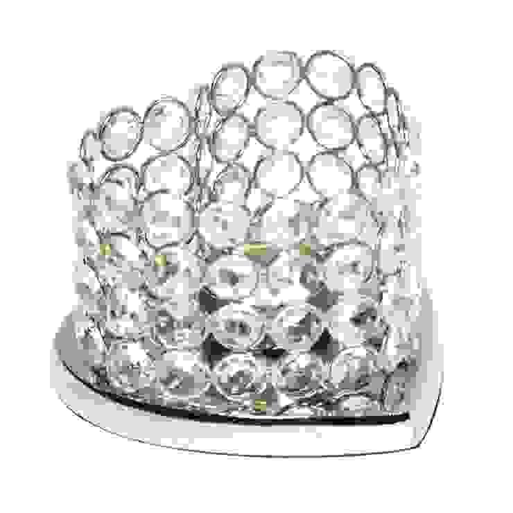 Heart Shaped Crystal T-lite Holder by M4design