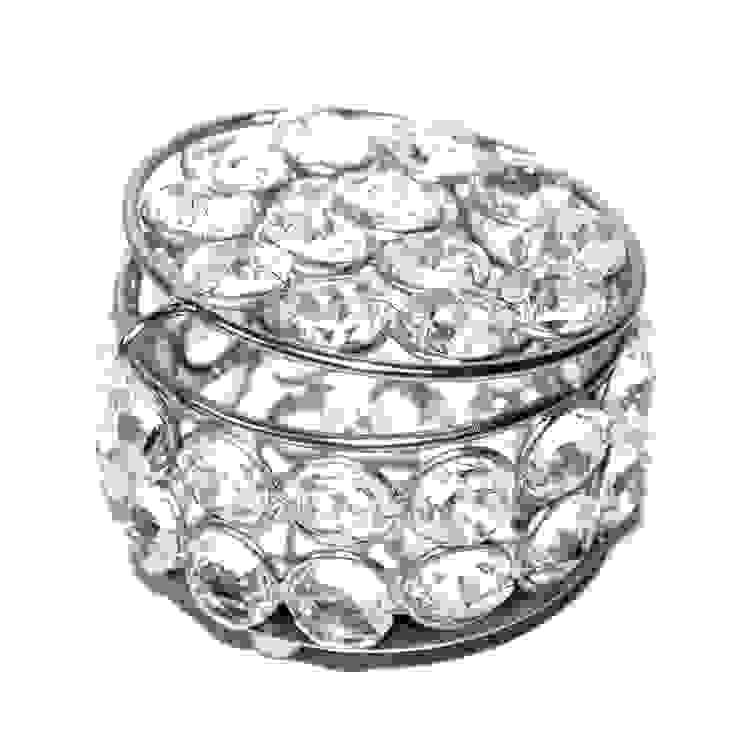 Crystal Beaded Trinket /Jewelry Box by M4design
