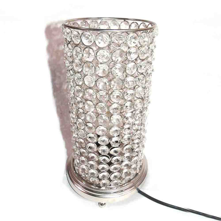 Crystal Cylinder Lamp by M4design