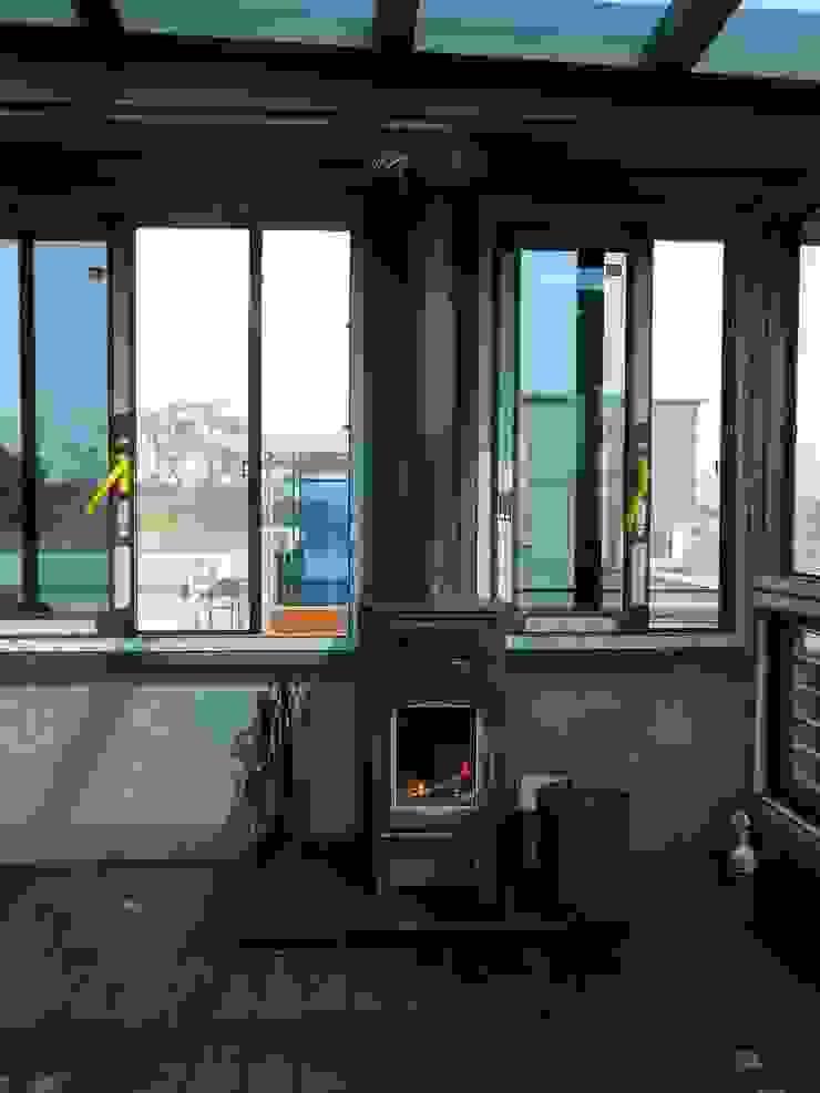 파워솔라 오븐그릴: 파워앤파워 벽난로의 현대 ,모던