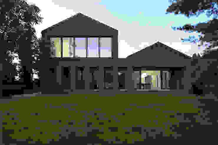 Haus SLM archequipe Moderne Häuser