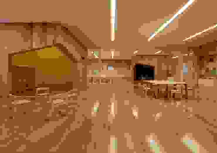 LEIMOND-MUKOU NURSERY SCHOOL:  Archivision Hirotani Studioが手掛けた学校です。,モダン