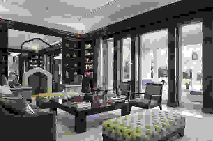 Residenza privata - Palm Beach, Florida - Library di Ti Effe Esse Interiors Moderno
