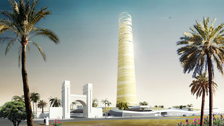 The garden and the tower: The OIC headquarters, Jeddah by Atelier Thomas Pucher