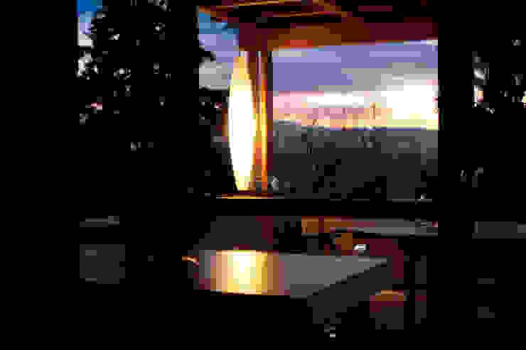 Moderner Balkon, Veranda & Terrasse von studioarchitetturagolinelli Modern