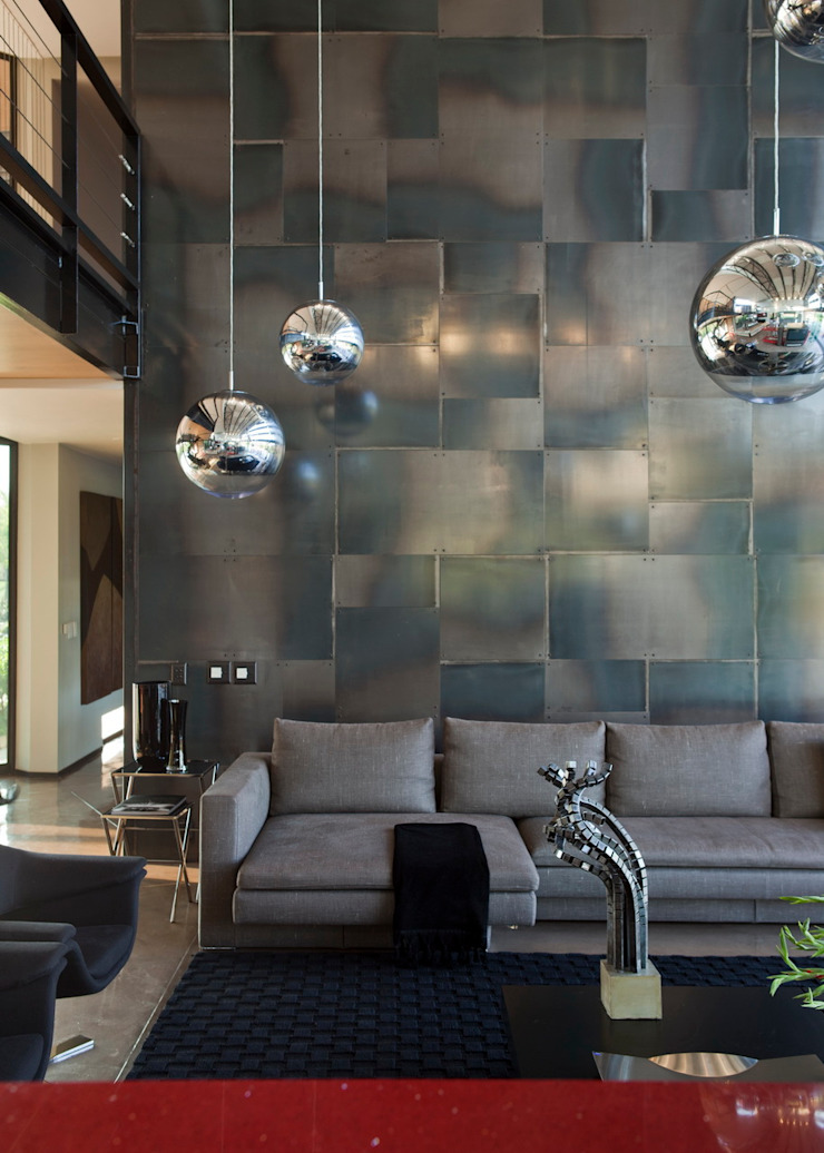 House Tsi Modern living room by Nico Van Der Meulen Architects Modern