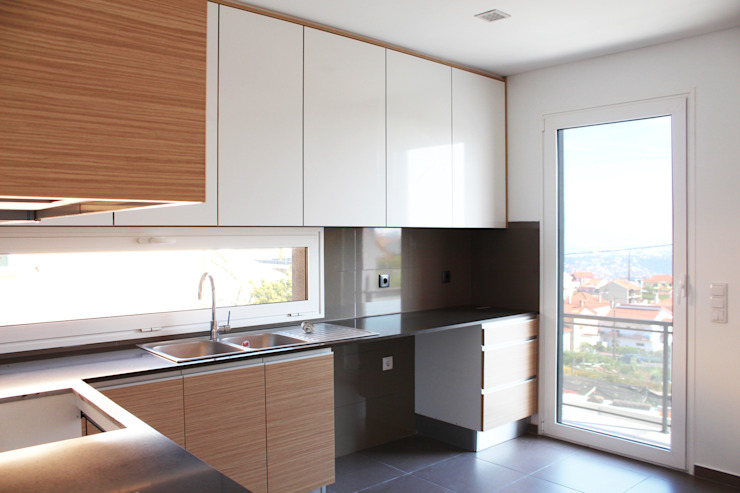 CASA L911 Casas modernas por Estúdio AMATAM Moderno