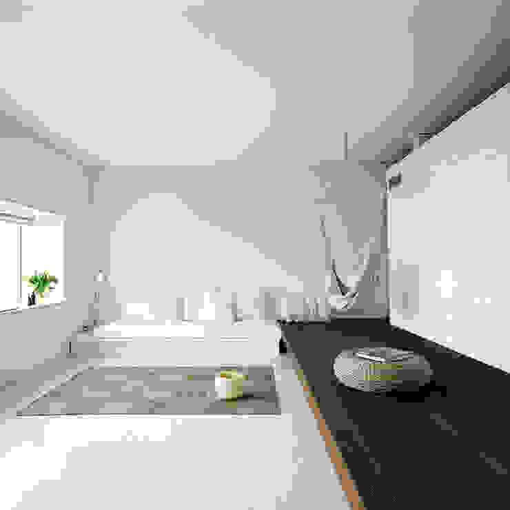 case Bircat Camera da letto minimalista di Cattaneo Brindelli architetti associati Minimalista