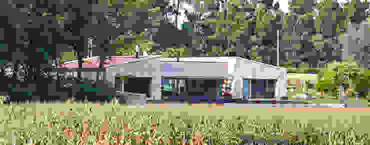 HUGA ARQUITECTOS منازل