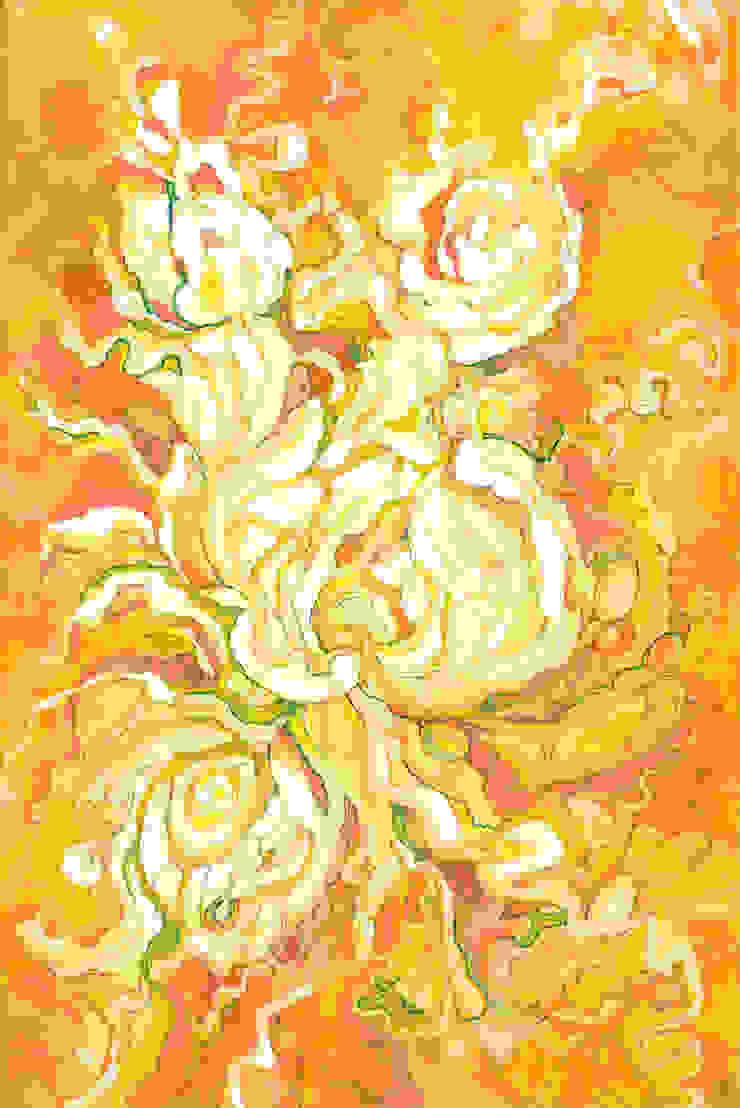 Yellow dance by Victoria Zukovska