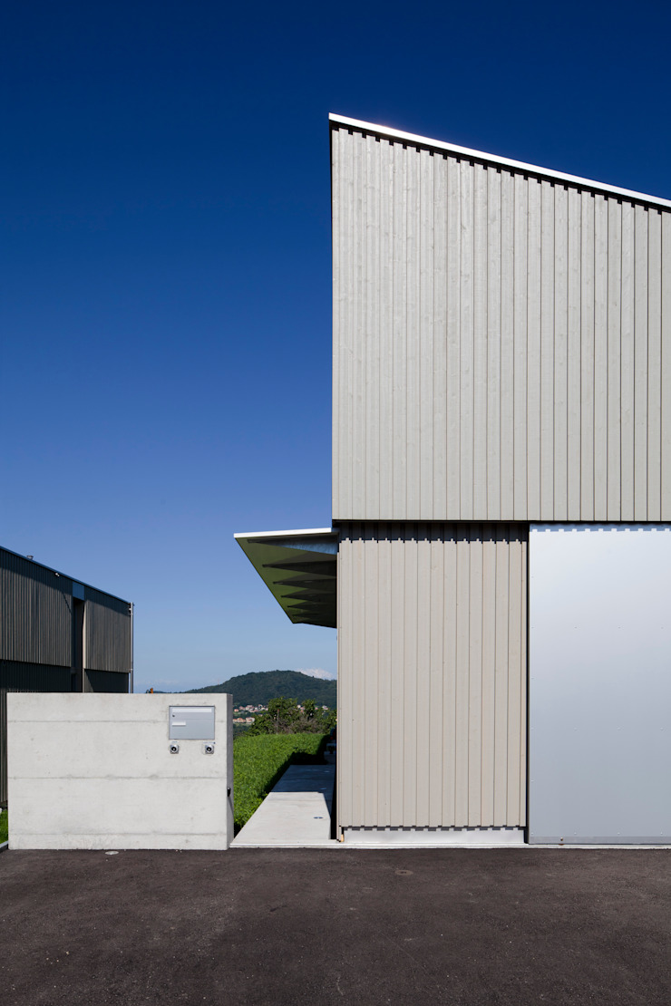 Minimalist houses by Cattaneo Brindelli architetti associati Minimalist