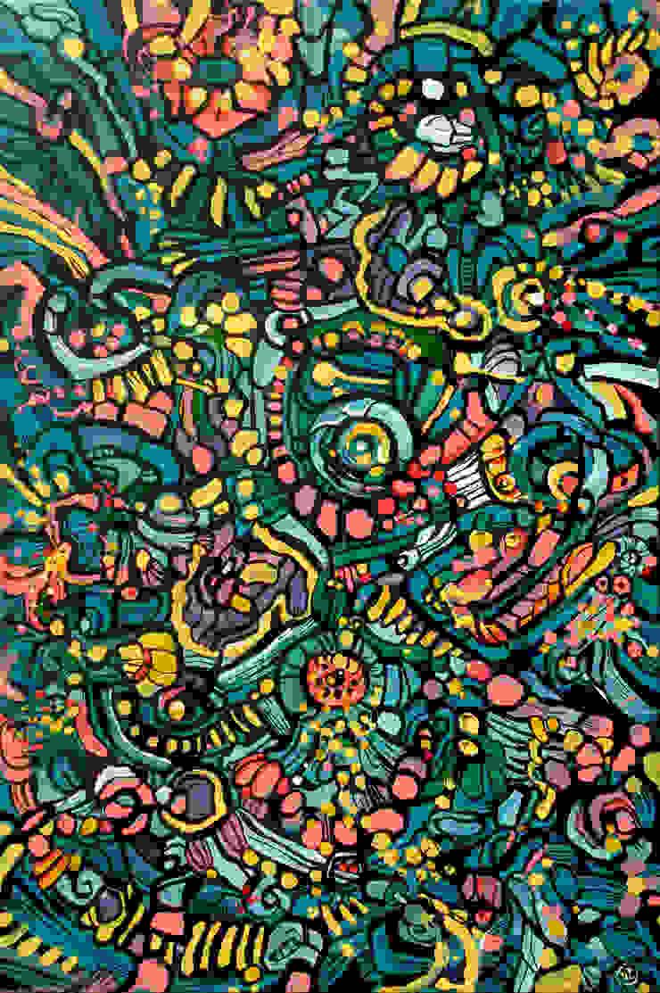 Abstract salad by Victoria Zukovska