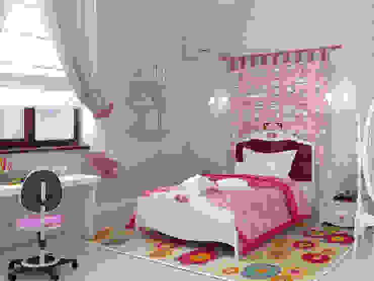 Chambre d'enfant originale par Студия дизайна 'New Art' Éclectique