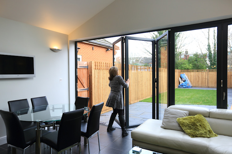 Single Storey Extension, Roxborough Rd II Cozinhas modernas por London Building Renovation Moderno