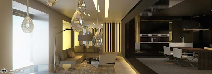 STUDIO APARTMENT by CLASS APART (furniture.interiordesign)