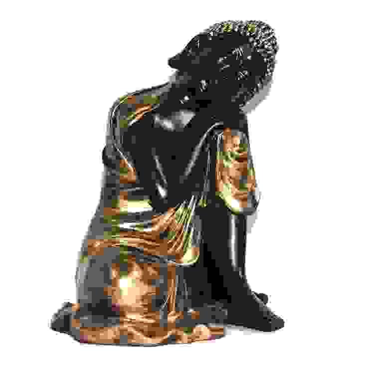 Polyresin Thai Resting Buddha Sculpture: asian  by M4design,Asian