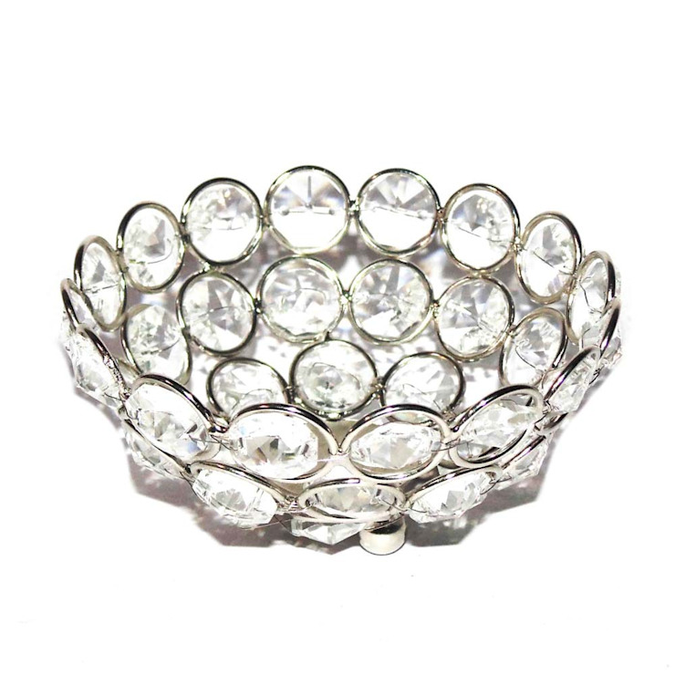Crystal Decorative Bowl/ Table Decor Gifts: asian  by M4design,Asian