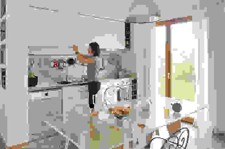 Maison ossature bois Maisons minimalistes par Carole Guyon architecte Minimaliste