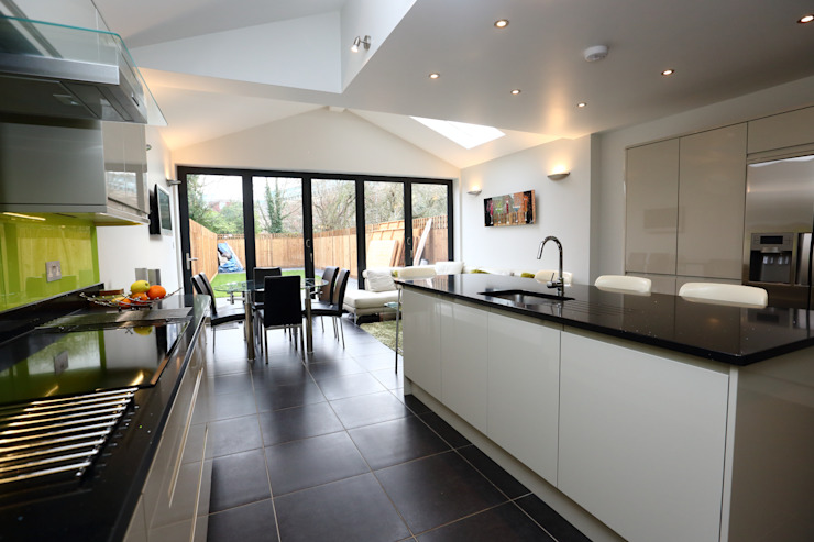 Single Storey Extension, Roxborough Rd II Cocinas de estilo moderno de London Building Renovation Moderno