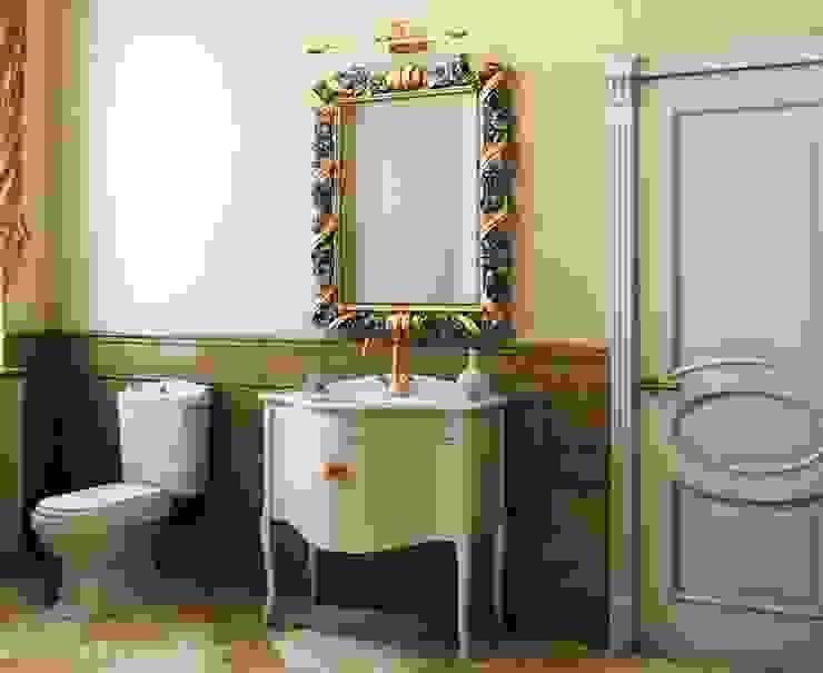 Дом в неоклассическом стиле: Ванные комнаты в . Автор – Студия дизайна 'New Art',