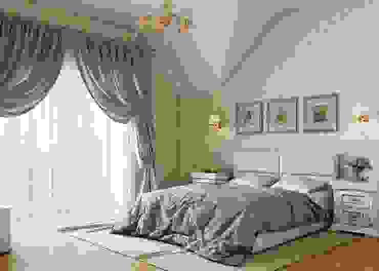 Dormitorios clásicos de Студия дизайна 'New Art' Clásico