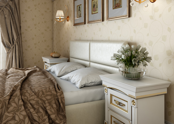 Classic style bedroom by Студия дизайна 'New Art' Classic