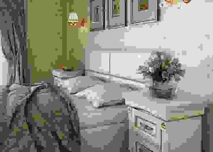 Dormitorios de estilo  de Студия дизайна 'New Art', Clásico