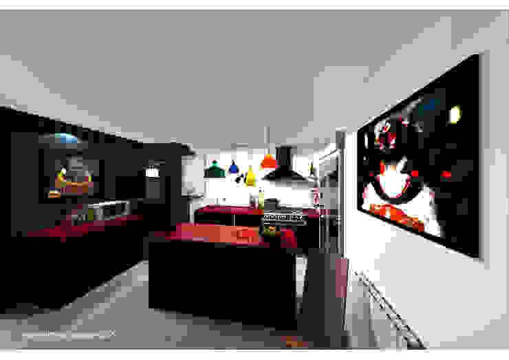 Kitchen by Sonia HADDON Interior Designer, Modern