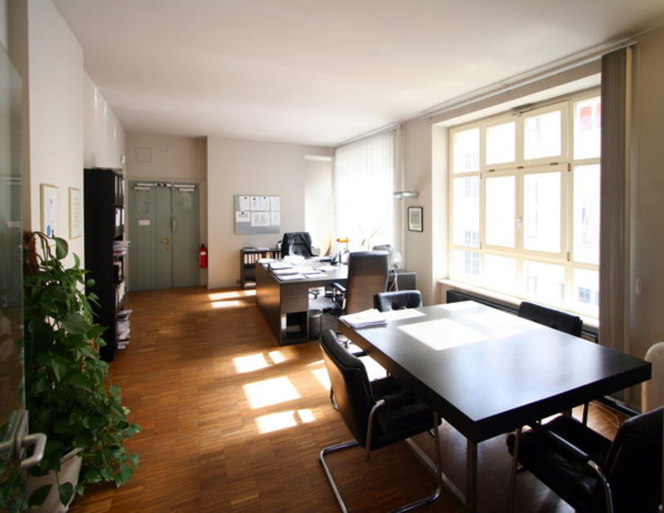 Modern Çalışma Odası WAF Architekten Modern
