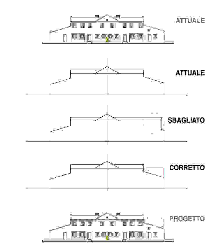 house AS Case moderne di Didonè Comacchio Architects Moderno