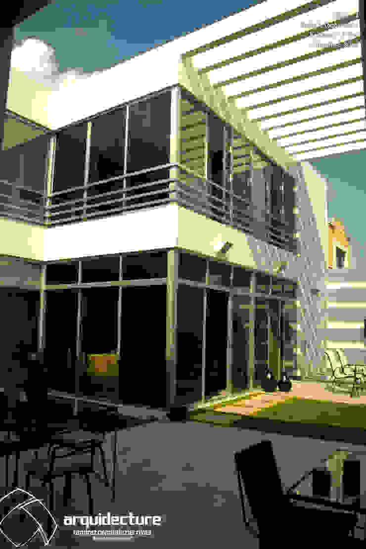 CASA A + A Habitaciones de Grupo Arquidecture