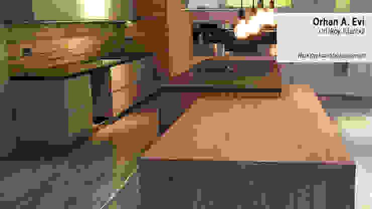 Orhan A. Evi Modern Mutfak Plaza Yapı Malzemeleri Modern