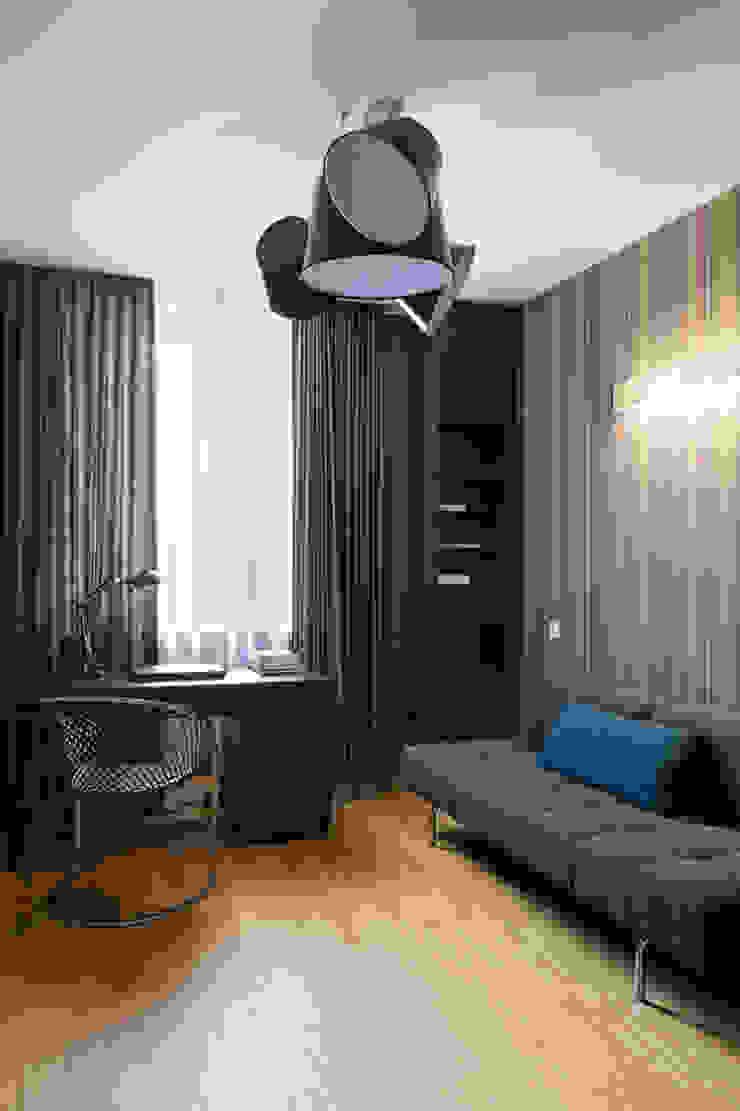 Лофт – декор Рабочий кабинет в стиле лофт от Анна и Станислав Макеевы Лофт