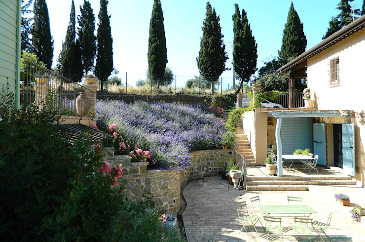 Jardines de estilo  por Lucio Piunti, Moderno