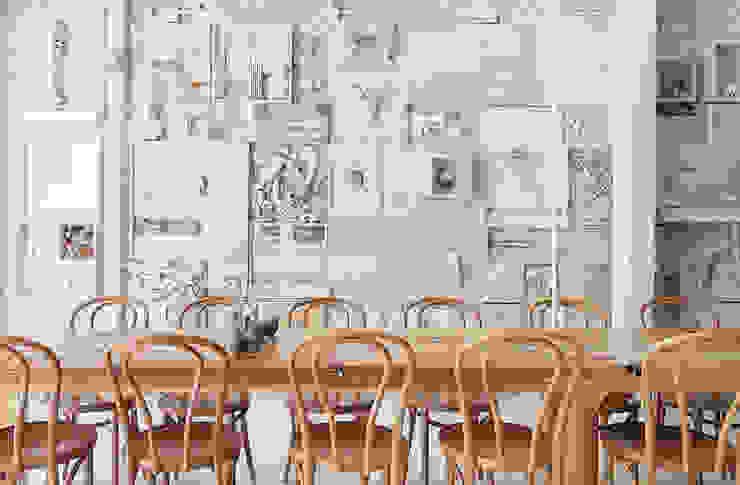 Hueso Restaurant Gastronomía de estilo moderno de Cadena + Asociados Concept Design Moderno