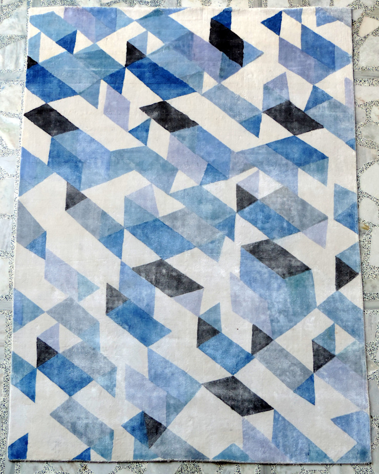 Painted Silk Carpets: modern  by Rugs De Indiska,Modern