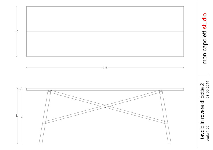 My Table Collection di MONICA POLETTI INTERIORS