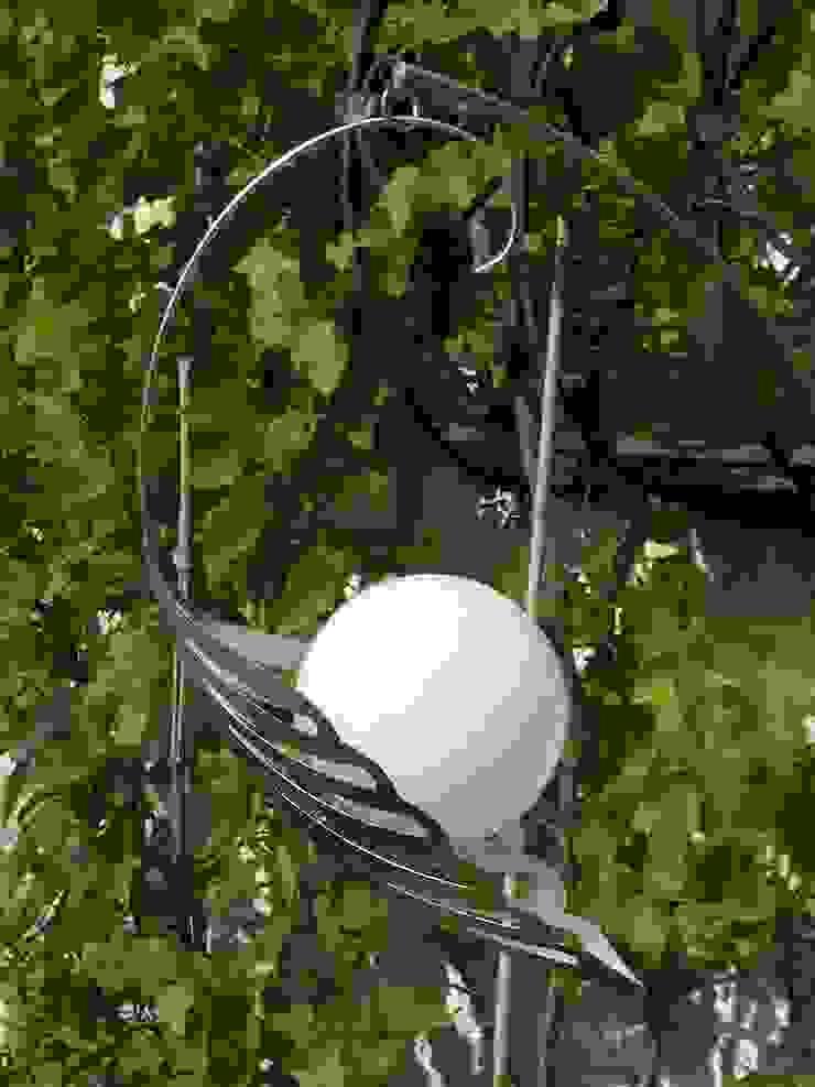 Designer-Solarlampen sog. LICHTBLÜTEN von Kunstschmiede Klassisch