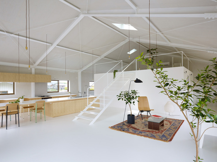 AIRHOUSE DESIGN OFFICE Livings de estilo minimalista