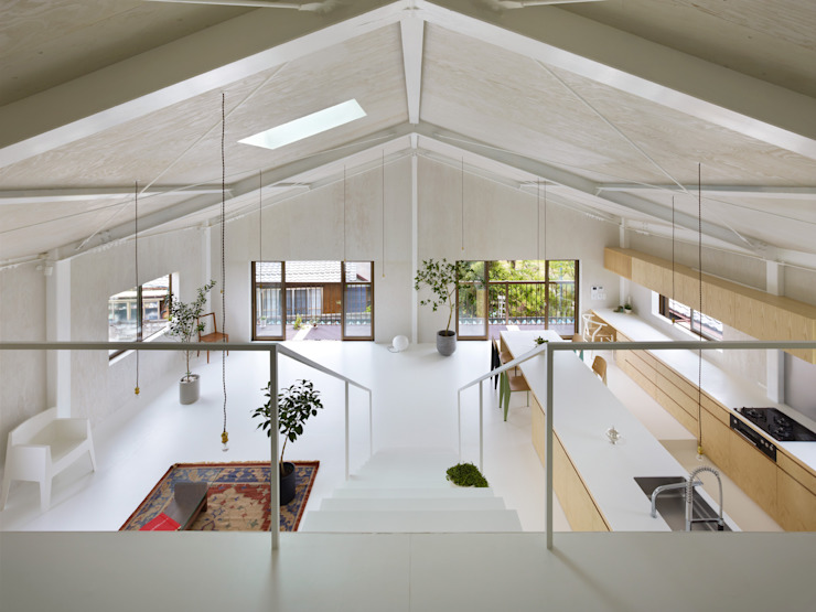 Salas de estar minimalistas por AIRHOUSE DESIGN OFFICE Minimalista