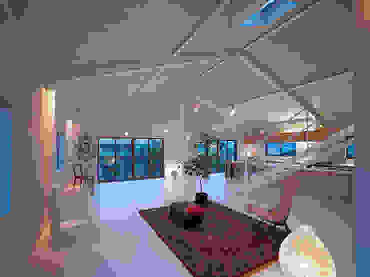 House in Yoro ミニマルデザインの リビング の AIRHOUSE DESIGN OFFICE ミニマル